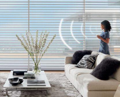 וילונות חשמליים לסלון